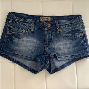 Pants - Joujou denim shorts